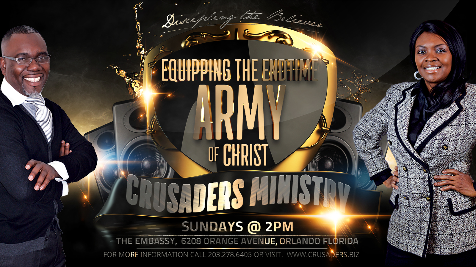 crusaders Anniversary Party banner2